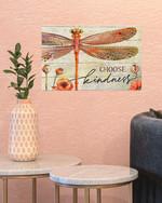 Dragonfly Choose Kindness Wall Art Decor Poster Wedding Housewarming Wall Hangings