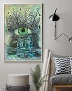 Eye Abstract Optometrist Poster No Frame