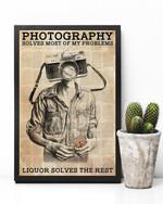 Photographer Solves Problemsa Poster Canvas
