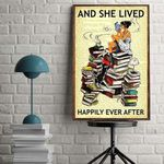 And She Lived Happily Ever After wall poster