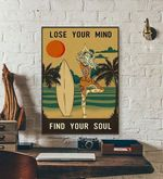 Lose Your Mind Find Your Soul yoga poster