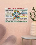 Veterinarian We Are Not Afraid To Be Great Poster No Framed