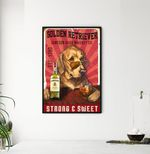 Jameson Irish Whiskey Co Strong & Sweet poster