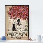 Once Upon A Time There Were A Girl Who Really Love Cats poster