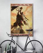 Basketball Choose Something Fun Poster No Frame