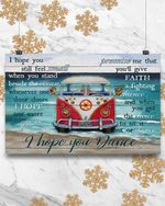 Hippie I Hope You Dance Poster Canvas