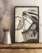 Cycling Gifts for Men Gift for Cyclist Bike Birthday Poster