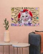 Cat - I Am Beatiful Proud Unique Poster No Framed