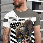 Army strong these color don't run tshirt
