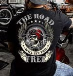 Motorcycle the road will set you free tshirt