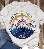 Wander woman traveling lovers shirt