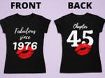 Fabulous since 1976 since 45 tshirt
