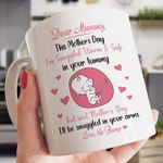 Dear mummy this mother's day i'm snuggled warm & safe in your tummy love the bump