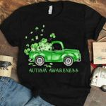 Autism prevention shamrock pick up saint patrick's day for lovers shirt