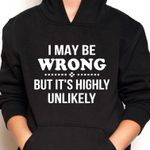 I may be wrong but it's highly unlikely hoodie