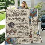 To My Daughter Isdine This Blanket There Is A Piece Of My Heart It Is Fill Of Love I Believe In You Love Mom Family Blanket