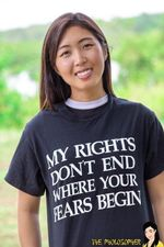 My Rights Dont End Where Your Fears Begin Tshirt