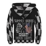 Racing Summer Nights And Dirt Track Lights Racer 3D Printed Hoodie