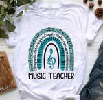 Music Teacher Caring Dedicated Loving Kind Loyal Reliable Fun Warm Compassion Shirt