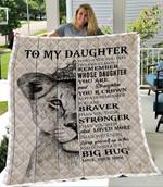 To My Daughter Big Hug Lion