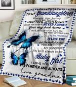 To My Granddaughter Baby Girl