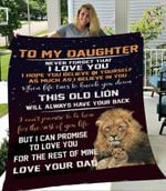 To my daughter never forget that