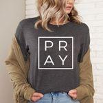 Pray god shirt