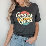 God is good vintage tshirt