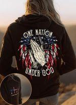 One nation under god tshirt