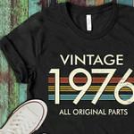 Vintage 1976 all original parts t-shirt