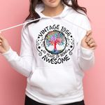 Vintage 1956 65 years of being awesone t-shirt