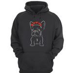Pug heart dog t-shirt