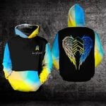 The lucky few Down Syndrome prevention 3D Hoodies