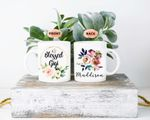 Mothers Day Gift Flower Watercolor Blessed Gigi Mothers Day Personalized