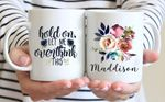 Mothers Day Gift Hold On Let Me Overthink This Mothers Day Personalized