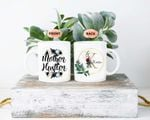 Mothers Day Gift Flower Watercolor Mother Hustler Mothers Day Personalized