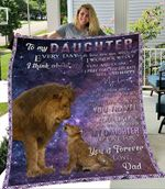 Lion To My Daughter Everyday My Love For You Is Forever