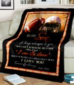 To My Son From Mom American Football Believe In Yourself As Much As I Believe In You Mom Family