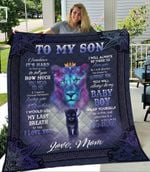 To My Son From Mom Sometimes It S Hard To Find Words Lion