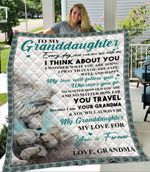 To My Granddaughter Wolf And Cub From Grandma