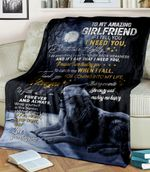 Wolf To My Amazing Girlfriend If I Tell You I Need You It Means I Am Trusting You Boyfriend
