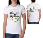 Mothers day gift Flower Watercolor Blessed Big Mama Mothers Day Personalized