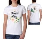 Mothers day gift Flower Watercolor Blessed Mimi Mothers Day Personalized