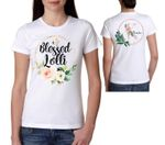 Mothers day gift Flower Watercolor Blessed Lolli Mothers Day Personalized