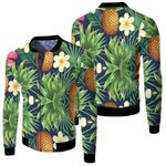 Tropical Seamless Pattern With Jungle Night Garden Leaves Anitas And Bellas Black
