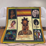Blacknificent black girl cool leopard blink pattern