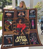 Melanin Afro Natural Hair Queen Cute Black Girl Magic