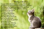 Cat Memorial Pet Loss Bereavement Rainbow Bridge Fridge Magnet