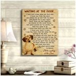 Dachshund Wait At The Door I'll Be Waiting At The Door Dog Poster