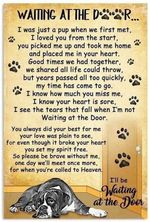 Boxer Your Pet Is Spiritually wait the door poster